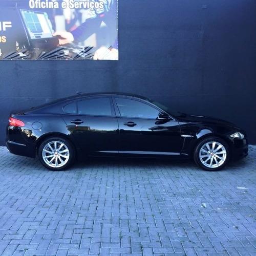 jaguar xf 2.0 premium luxury 2015 preto gasolina