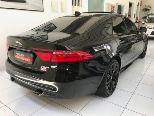 jaguar xf 2.0 r-sport turbo gasolina 2016 4 portas