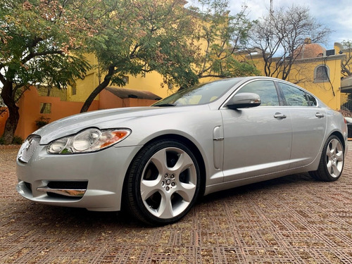 jaguar xf 4.2 xf luxury premium v8 piel lujo at