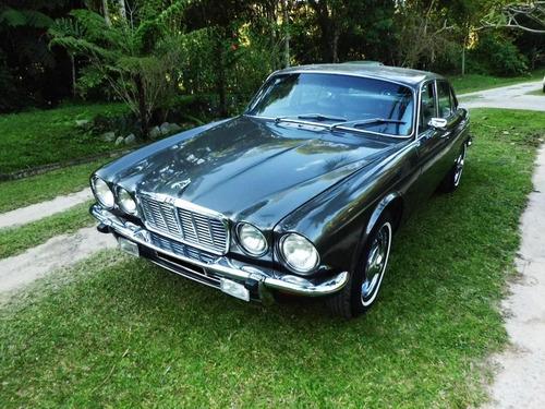jaguar xj - 6 - 1974 - cinza