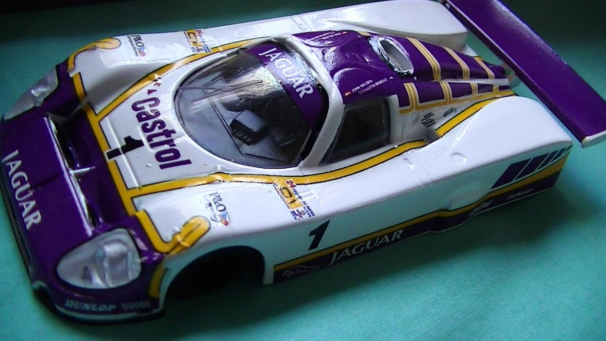 Jaguar Xjr-9 Twr V12 Le Mans 1988 24 Horas Lemans Silk Cut ...