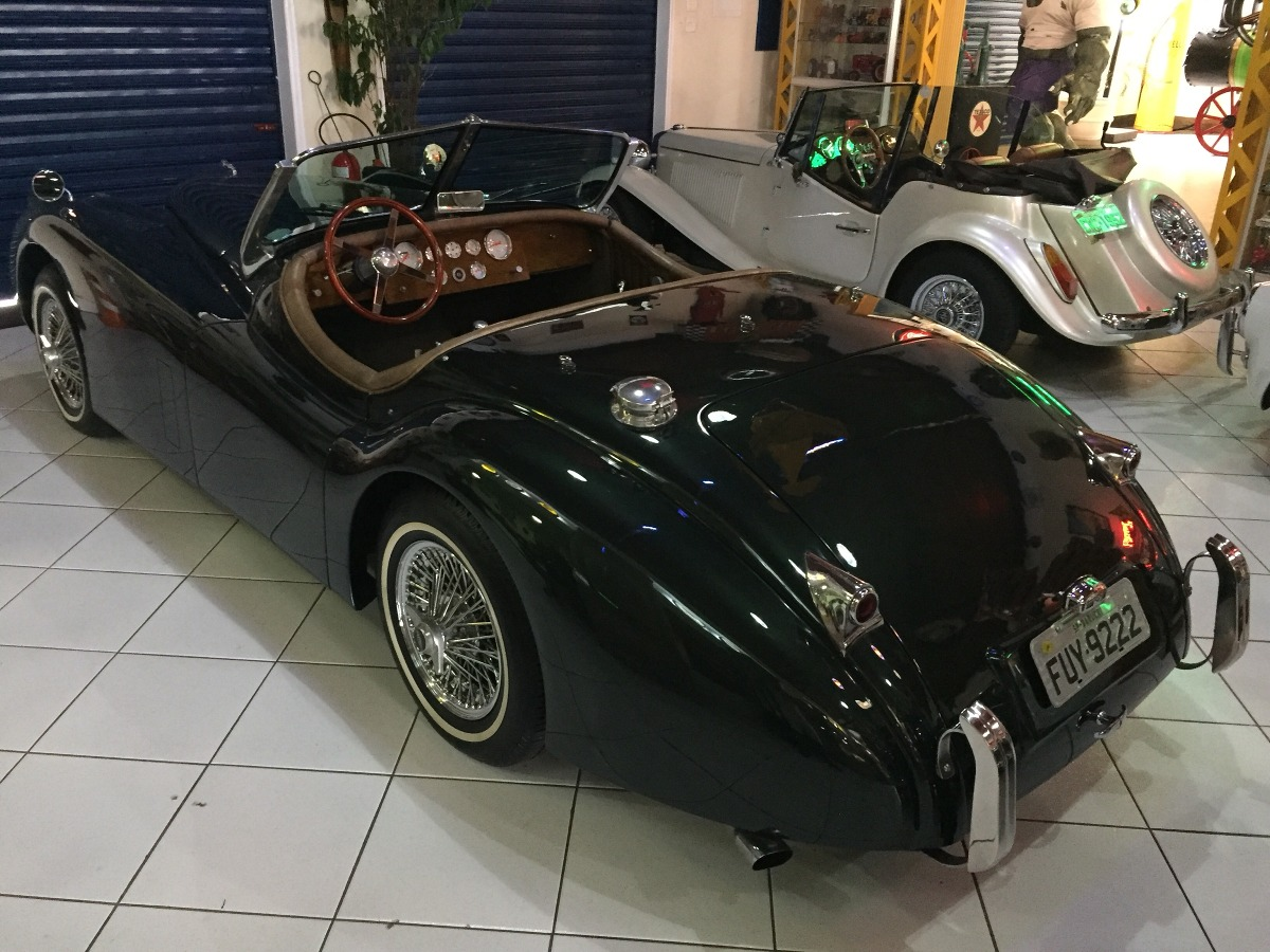 Jaguar Xk 120 1952. Carregando Zoom.