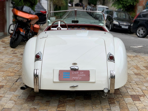 jaguar xk 120 roadster - 2011 (replica)