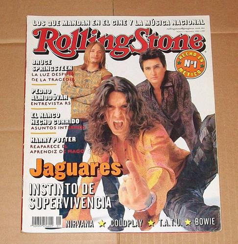 jaguares revista rolling stone no.1 jumbo la barranca bowie