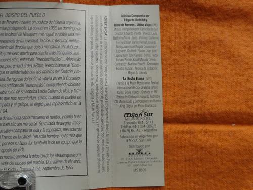 jaime de nevares - ultimo viaje - cassette -  1995