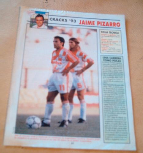 jaime pizarro 1993 - poster revista don balon