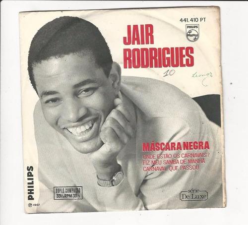 jair rodrigues - 1967 - máscara negra - compacto - ep d7