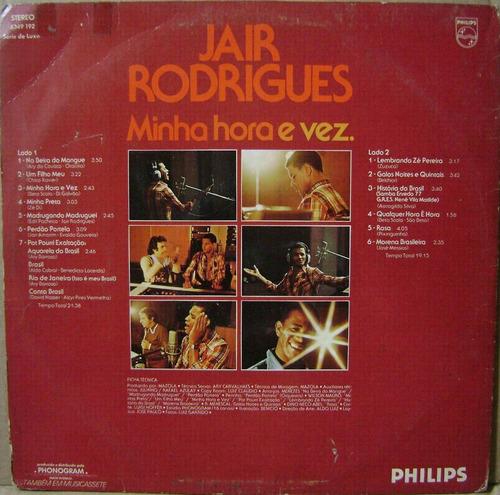 jair rodrigues - minha hora e vez - 1976