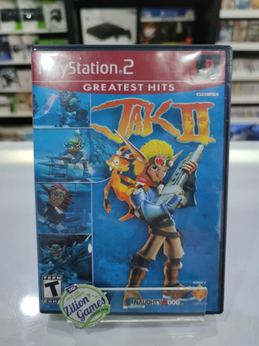 jak 2 greatest hits ps2 game original - completo