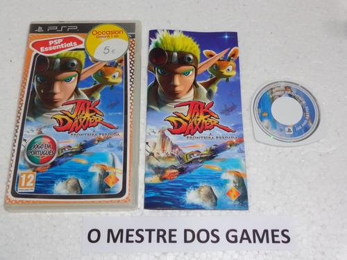 jak and daxter original para psp confira as fotos