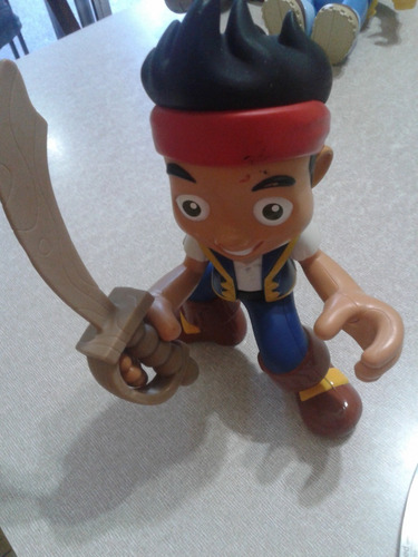 jake el pirata - habla en ingles - original fisher price
