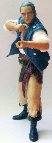 jakks pacific, gibbs piratas del caribe, mide 17 cm.