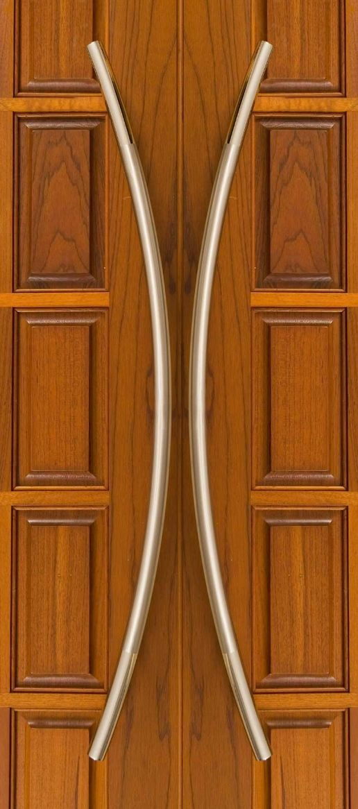 Jaladera curva asa de acero inoxidable para puerta mazcomer ...
