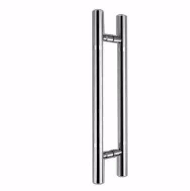 jaladera puerta acero inoxidable 750 mm