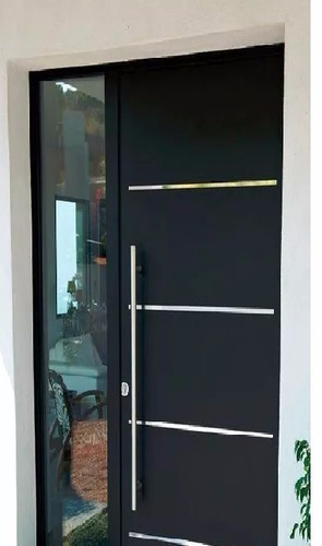 jaladera puerta acero inoxidable 80 cm
