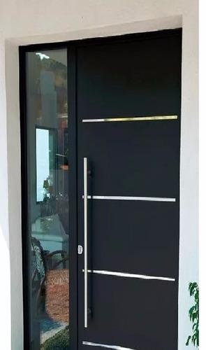 jaladera puerta acero inoxidable
