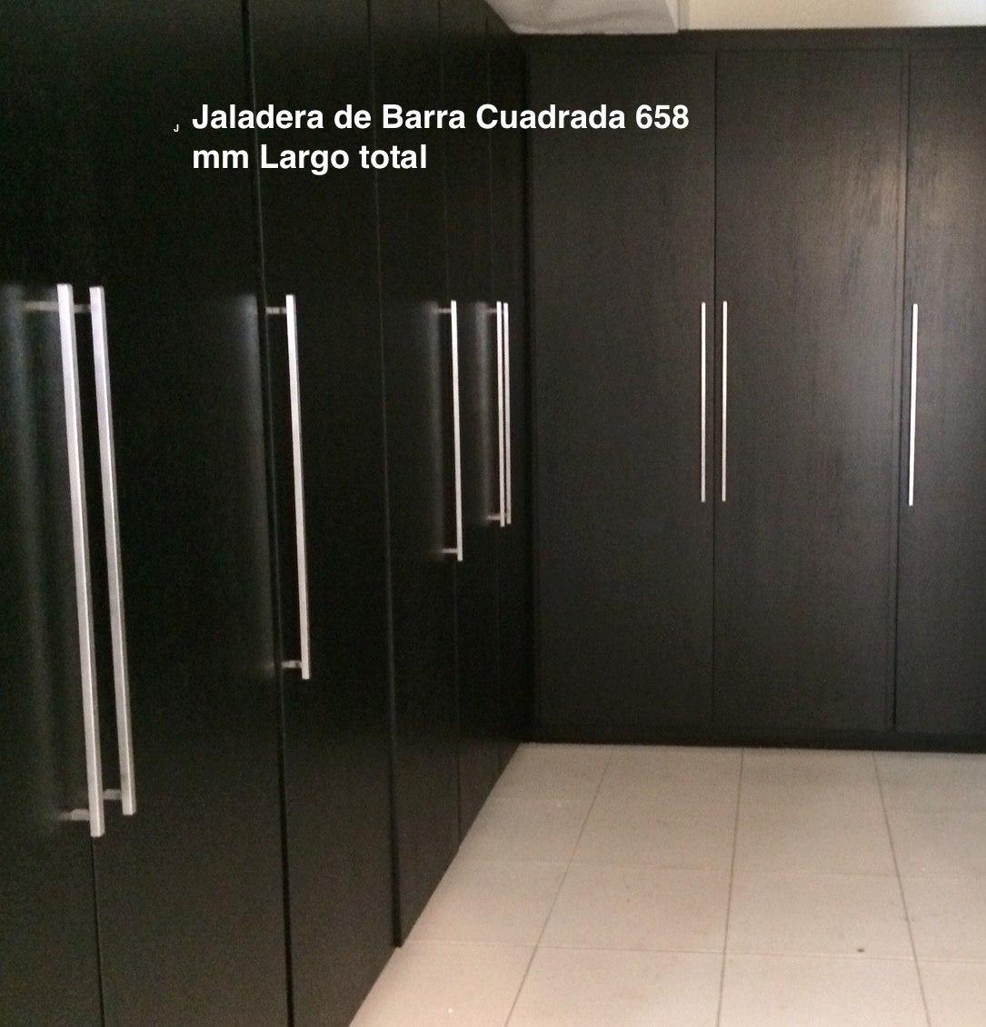Jaladeras cuadradas para closets y cocina 1 en for Herrajes manijas para puertas