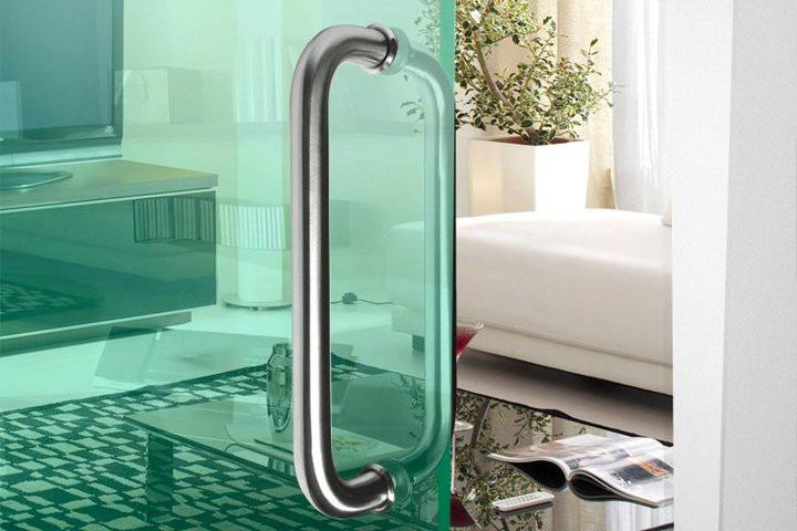 Jaladeras para puertas de cristal templado vidrio templado - Puertas correderas de vidrio templado ...