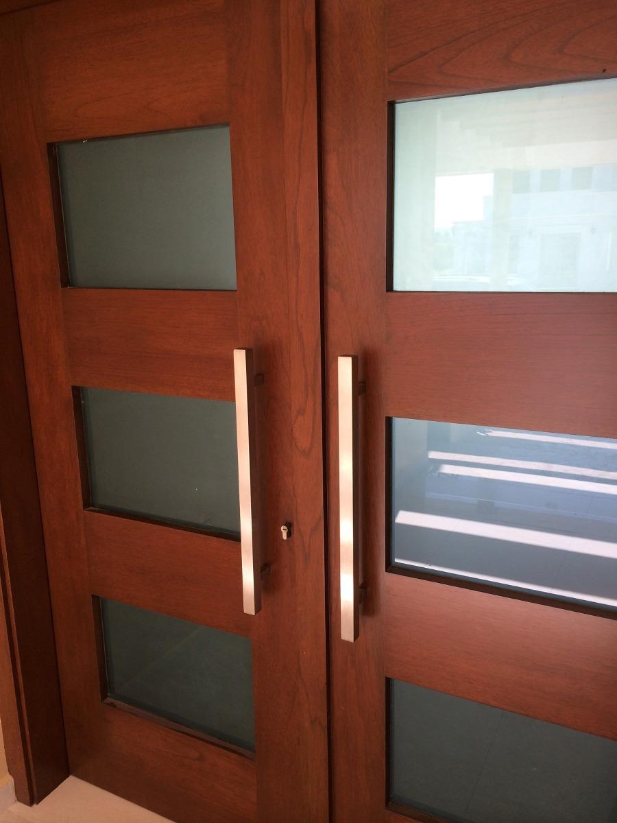 Jaladeras para una puerta doble en mercado libre for Puertas metalicas modernas dobles