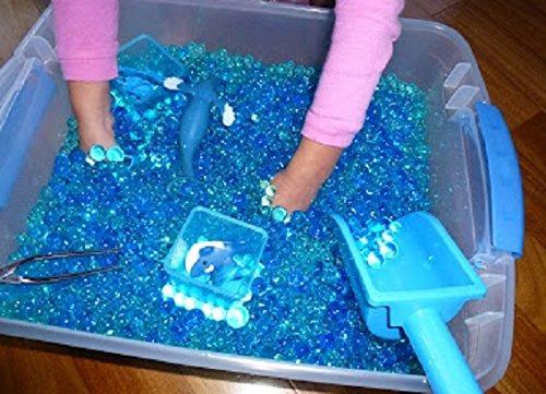 352733e65 Jalea Beadz 3 Bolas De Color Azul De Agua Gel 3 Pks De 10 - $ 82.900 ...