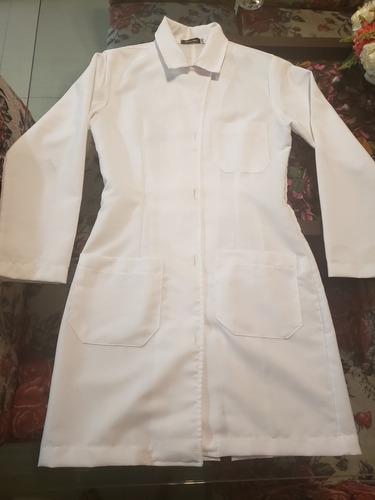 jaleco acinturado feminino branco