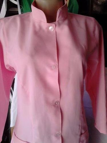 jaleco cores feminino ,acinturado oxford  gola padre