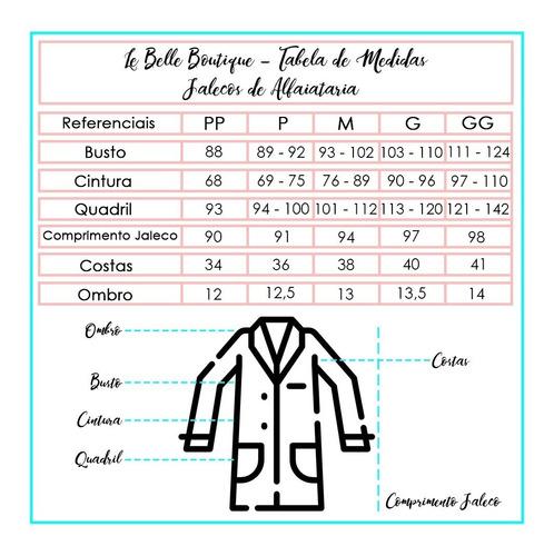 jaleco de renda le belle boutique - jr000106