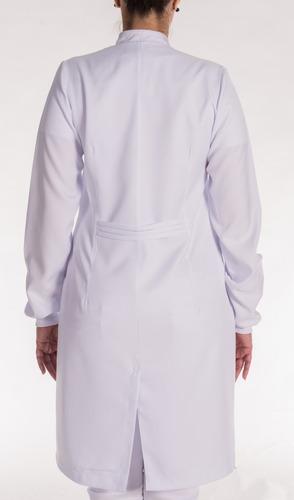 jaleco feminino branco