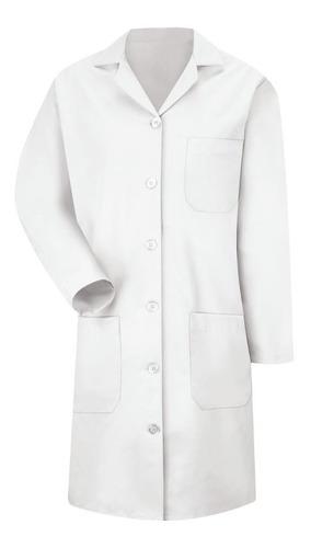 jaleco manga longa - tecido gabardine importado