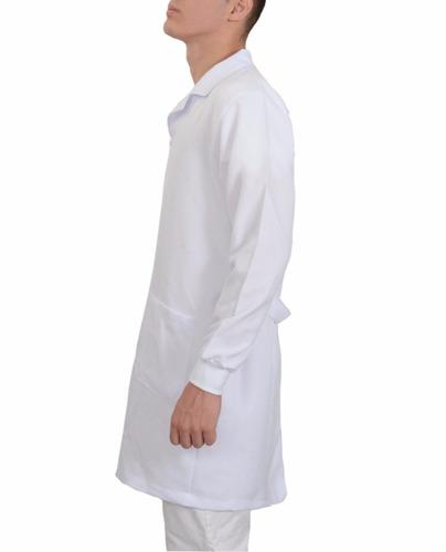 jaleco masculino médico com punhos,  personalizado, medicina