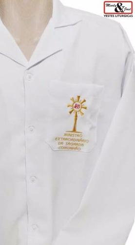 jaleco masculino ministro extraordinário da sagrada comunhão