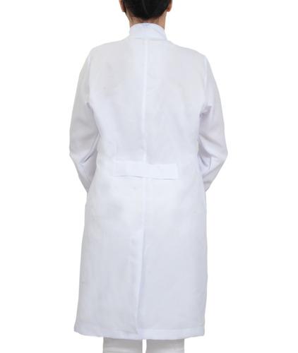 jaleco oxford feminino gola padre com punhos personalizado