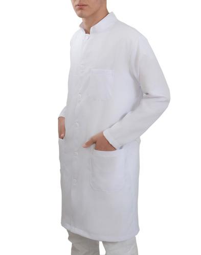 jaleco oxford masculino gola padre com punhos personalizado