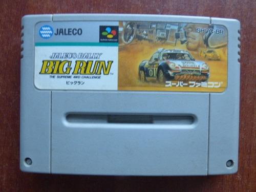 jaleco rally big run super famicom zonagamz japon