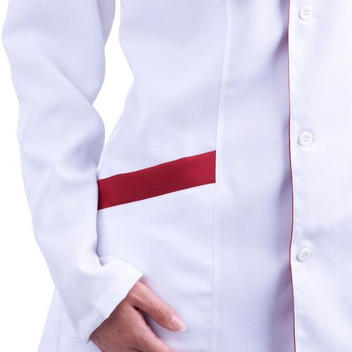 jaleco técnica enfermagem, acinturado,personalizado