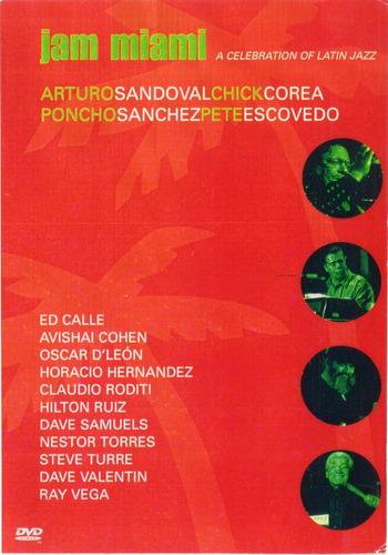 jam miami a celebration of latin jazz dvd