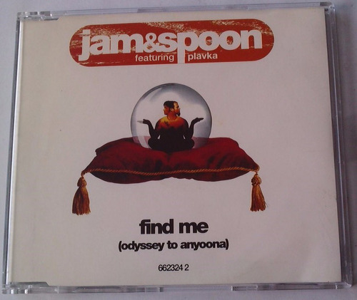 jam & spoon find me (odyssey to anyoona ) cd single aleman