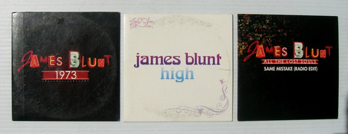 james blunt set de 3 cd's sencillos mexicanos oferta 3x1