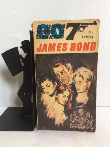 james bond, 007, al servicio secreto de su majestad, fleming