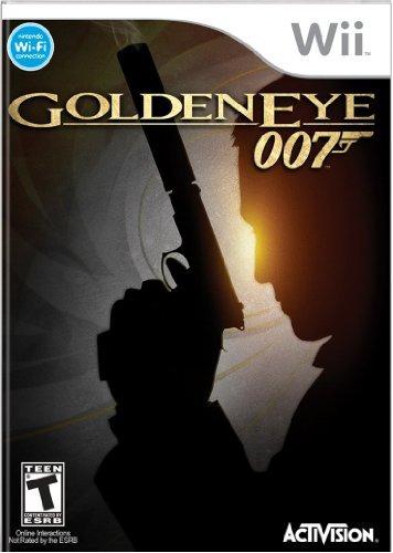 james bond 007: goldeneye - nintendo wii- envío gratis