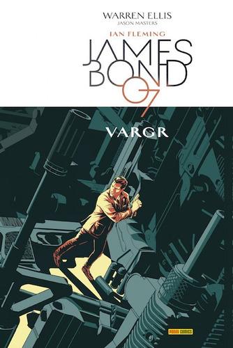 james bond  007 vargr comic libro panini en español tapa dur