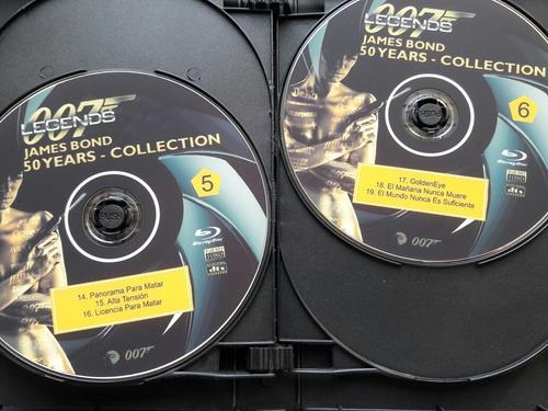 james bond 50 colecction
