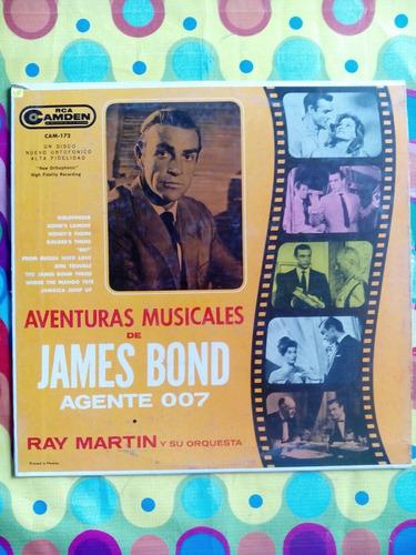 james bond lp  aventuras musicales del agente 007