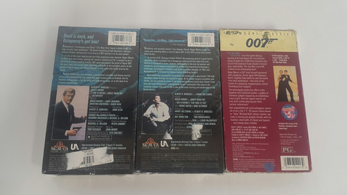 james bond roger moore vhs