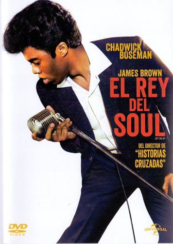 james brown el rey del soul get on up pelicula dvd