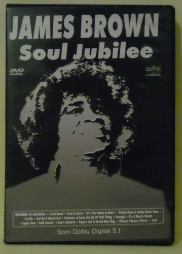 james brown soul jubilee dvd