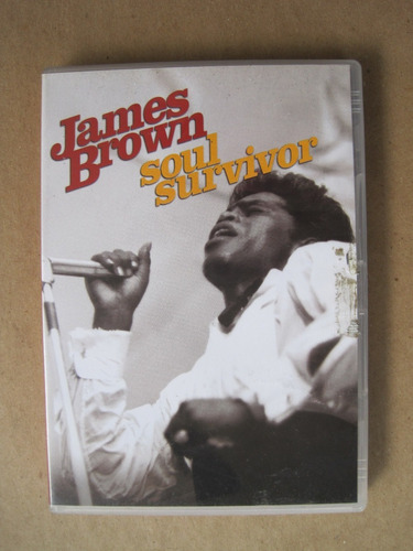 james brown soul survivor dvd original 2003 musical