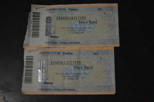 james cotton porto alegre 2013 ingresso