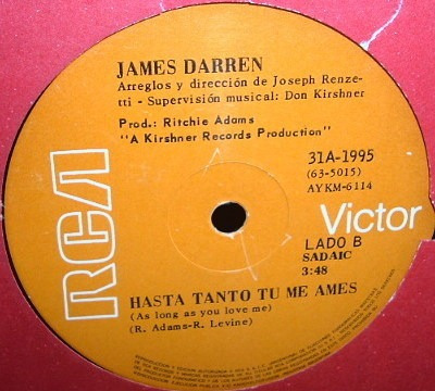 james darren mammy blue simple argentino