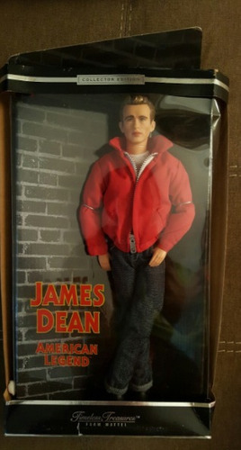 james dean  barbie de  coleccion